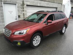 2017 Subaru Outback 2.5i Touring 17.000 k red