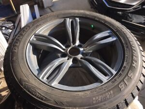 Dunlop snow tires for BMW X5