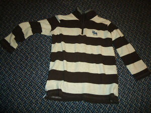 Boys size 7 Long Sleeve Mockneck Sweater by ***Hatley***