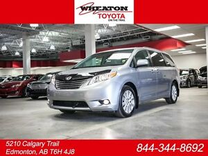 2014 Toyota Sienna XLE, AWD, Remote Starter, Leather, Heated Sea