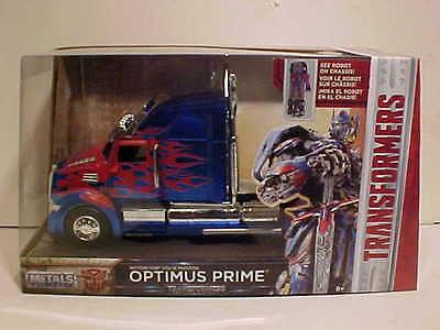 TRANSFORMERS Optimus Prime Truck Western Star 5700 XE Phantom Diecast 1:24 Jada