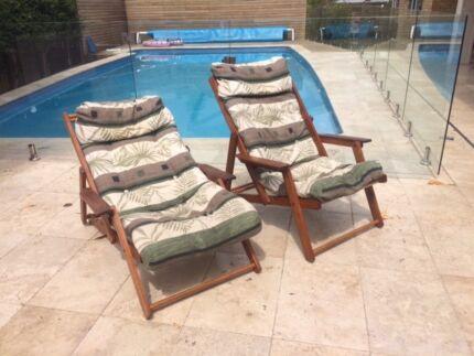 Jamaican deck chairs