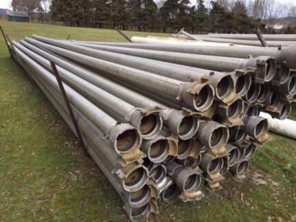 100 X 9m 5 Inch Lengths Aluminium Irrigation Pipe Ajax Fittings