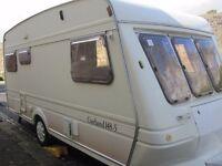 Fleetwood Garland Five Berth Touring Caravan