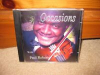 CD- Occasions, classical music with violin accompliment, VGC