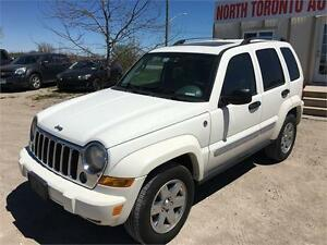 2007 JEEP LIBERTY LIMITED EDITION - 4X4 - LEATHER - HEATED SEATS