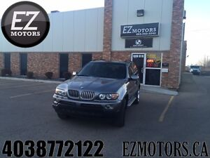 2004 BMW X5 4.4i=LOW KMS=WARRANTY=EXCELLENT CONDITION