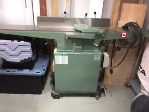 Drummondville 8-inch General jointer with new Byrd head,