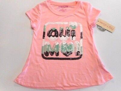 Girls shirts Girls clothes Sparkle Fancy Girls tops Peach Purple Size 4 - Fancy Girls Top