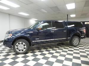 2013 Ford F-150 PLATINUM CREW 4X4 - REMOTE START**HEATED LEATHER