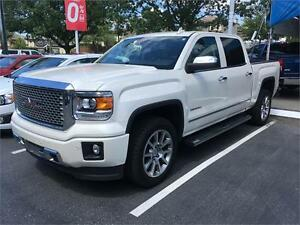 2015 GMC Sierra 1500 Denali loaded just 36.000 km white diamond