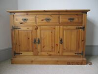 Pine Sideboard and Matching TV/Hifi Unit