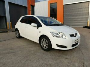 2008 Toyota Corolla ZRE152R Ascent White Automatic Hatchback Cardiff Lake Macquarie Area Preview
