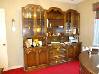 Three Piece Wall Unit - Each Section Can Stand Alone