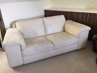 Henley Leather Natuzzi 2 seater sofa