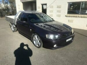 2004 Ford Falcon BA MkII XR8 Purple 6 Speed Manual Utility Dubbo Dubbo Area Preview