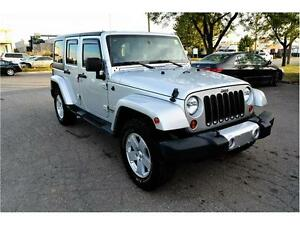 2012 JEEP WRANGLER UNLIMITED SAHARA NO ACCIDENT HISTORY