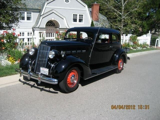1936 Packard Model 120-B  1936 Packard 120B 2 door sedan