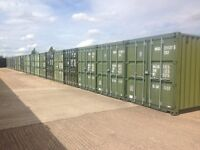 Self Storage in Immaculate 20ft shipping containers