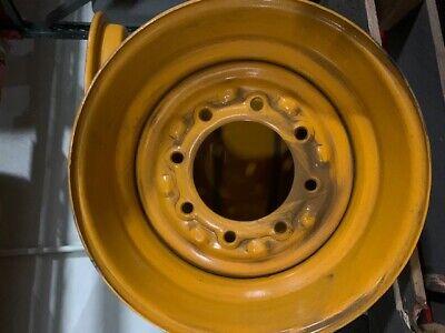 Jcb Oem 41933500 16.5x8.25 8-hole Skid Steer Wheel