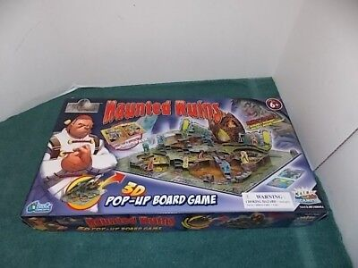 Haunted Ruin 3D Pop Up Board Game Halloween Game - Pop Halloween Games