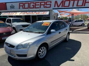 2006 Ford Focus LS CL Silver 4 Speed Automatic Hatchback
