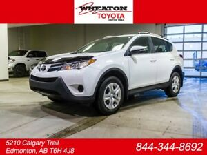 2014 Toyota Rav4 LE, Roof Rails, Bluetooth, USB, 4dr All-wheel D