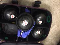 Set of 4 Thomas Taylor bowls size 4 plus bag