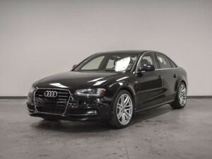 2015 Audi A4 LEATHER SUNROOF QUATTRO AWD