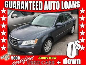 2010 Hyundai Sonata GL $0 Down - All Credit Accepted!