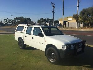 1998 Holden Rodeo TF DLX Crew Cab White Manual Dual Cab Wangara Wanneroo Area Preview