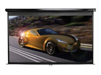 NEW - Elite M120UWH2 Manual Pull Down 120 inch Projector Screen - Black £100 ono