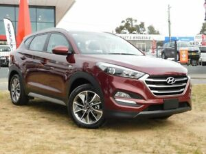 2017 Hyundai Tucson TL MY18 Active X (FWD) Red 6 Speed Automatic Wagon