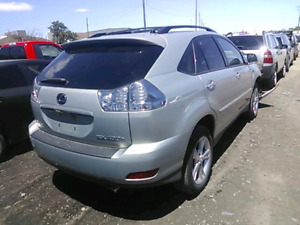 2008 rx400h vga 45000km only. Starts and drives