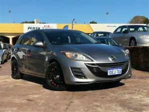 2009 Mazda 3 BL Neo Silver 6 Speed Manual Hatchback East Victoria Park Victoria Park Area Preview