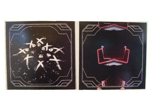 Arcade Fire 2 Sided Poster Neon Bible