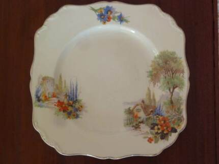 Plate, large, Meakin, Old England Bedford Bayswater Area Preview
