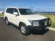 2010 Toyota Landcruiser VDJ200R 09 Upgrade Sahara (4x4) Pearl White 6 Speed Automatic Wagon Margaret River Margaret River Area Preview