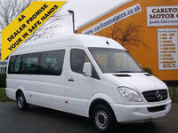 2009/59 Mercedes Benz Sprinter MINIBUS 311 CDI TL9 Lwb High Roof