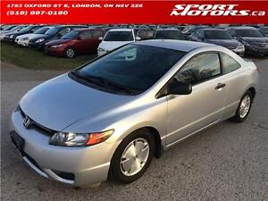 2008 Honda Civic Coupe! Remote Starter! PWR Options!