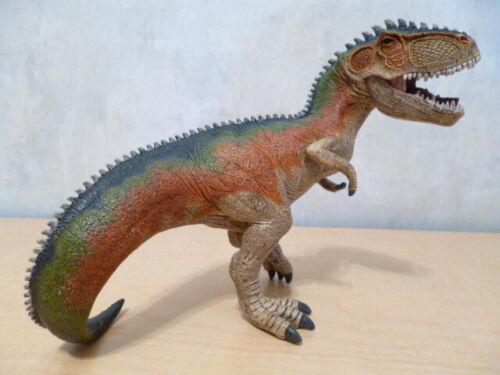 SCHLEICH Rainbow Tyrannosaurus Rex Dinosaur Figure w/ Moveable Jaw # D-73527