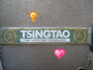 Hot Buy Tsingtao bar mat $60 (Van., BC)