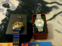 2 brand new watches