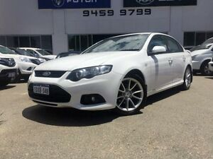 2012 Ford Falcon FG MK2 XR6 White 6 Speed Auto Seq Sportshift Sedan Beckenham Gosnells Area Preview