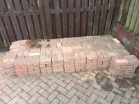 420 used block paving bricks