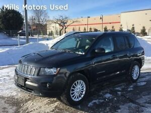 2014 Jeep Compass 4x4 2.4L Accident-Free One-Owner 6-Speed Autom