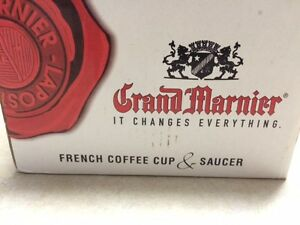 Grand Marnier  French Coffee Cup  and  Saucer  New in Box  [ 3 ] Windsor Region Ontario image 3