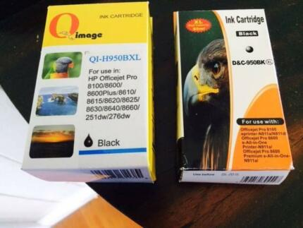 BLACK PRINTER INK CARTRIDGE FOR HP OFFICEJET PRO