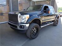 ** 2011 ** FORD ** F-350 ** LARIAT ** DIESEL ** LIFTED **