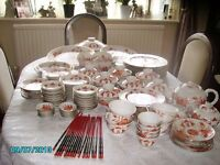 Oriental Dinner and Tea Service.